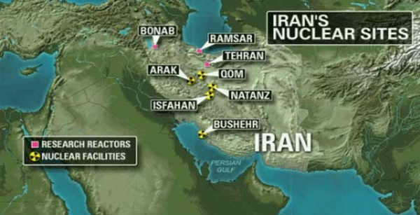 location-of-nuclear-power-plants-in-iran-map